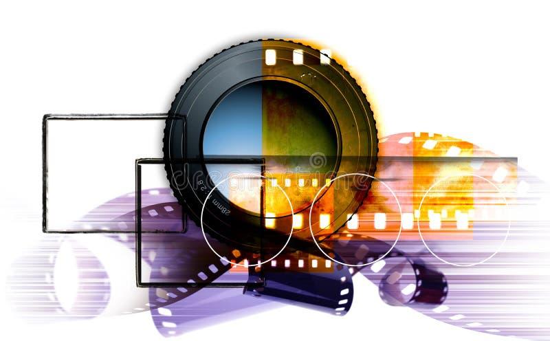 De montering van de fotografie vector illustratie