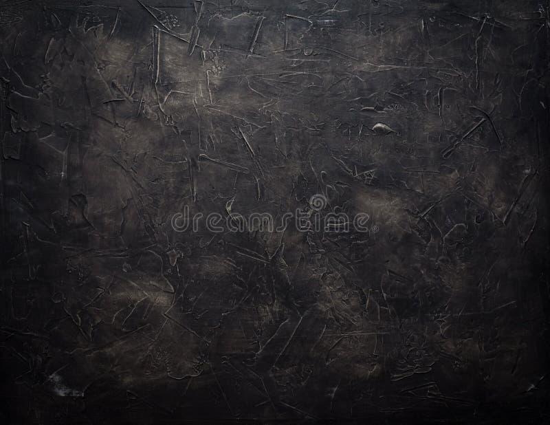 De mooie Abstracte Achtergrond van de de Gipspleistermuur van Grunge Decoratieve Marineblauwe Donkere stock fotografie