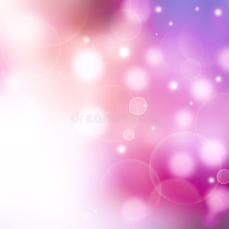 De mooie achtergrond met defocused lichten vector illustratie