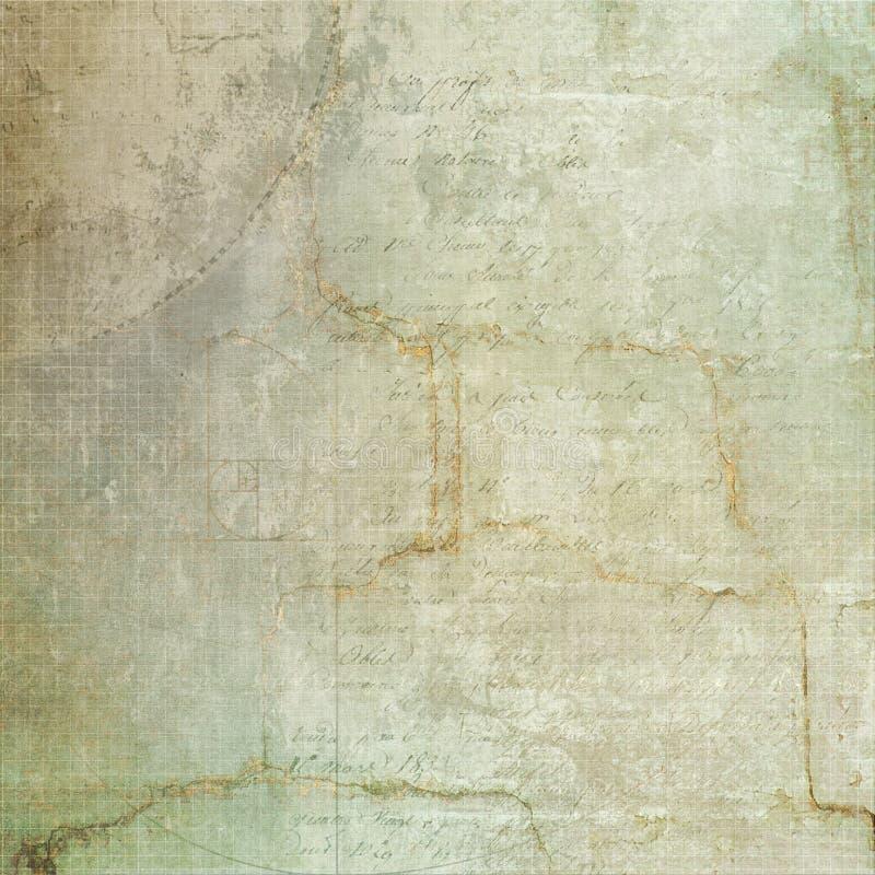 De mooie achtergrond van de grungemuur royalty-vrije stock afbeelding