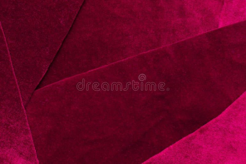 De mooie achtergrond van de het fluweeltextuur van het luxe donkere purpere lapwerk royalty-vrije stock foto