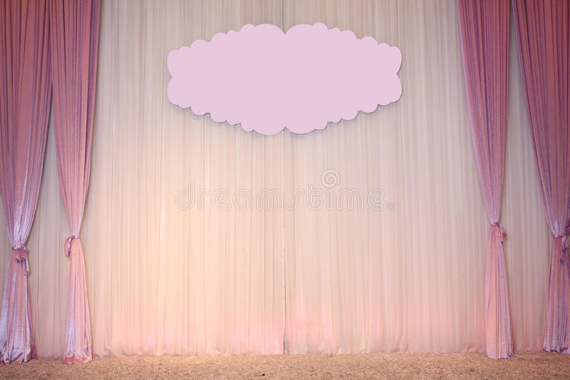 De mooie Achtergrond van het Huwelijk stock fotografie