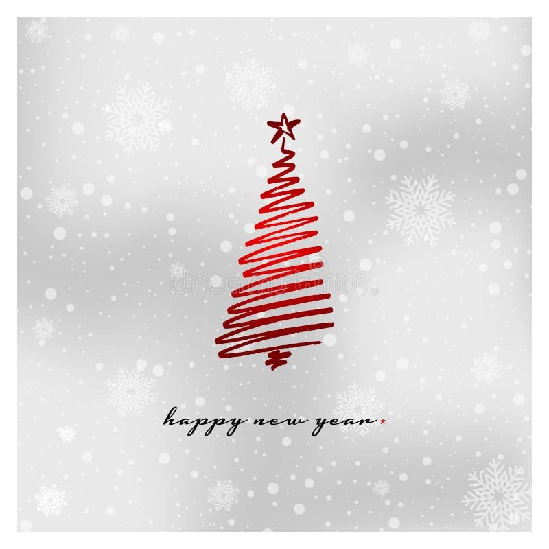 De mooie achtergrond van Kerstmis royalty-vrije illustratie