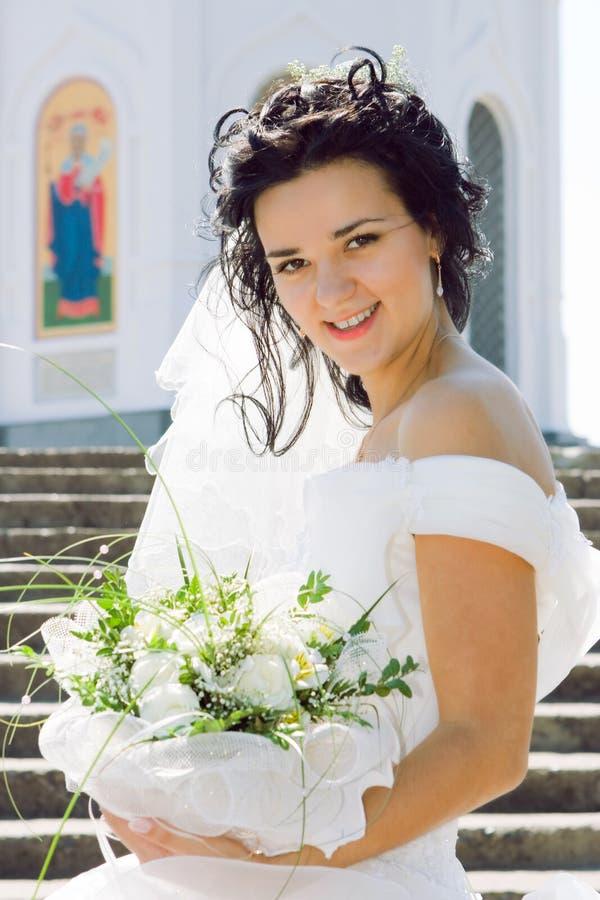 De mooie bruid stock afbeelding