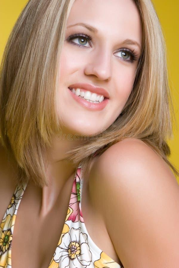 De mooie Close-up van de Vrouw royalty-vrije stock foto