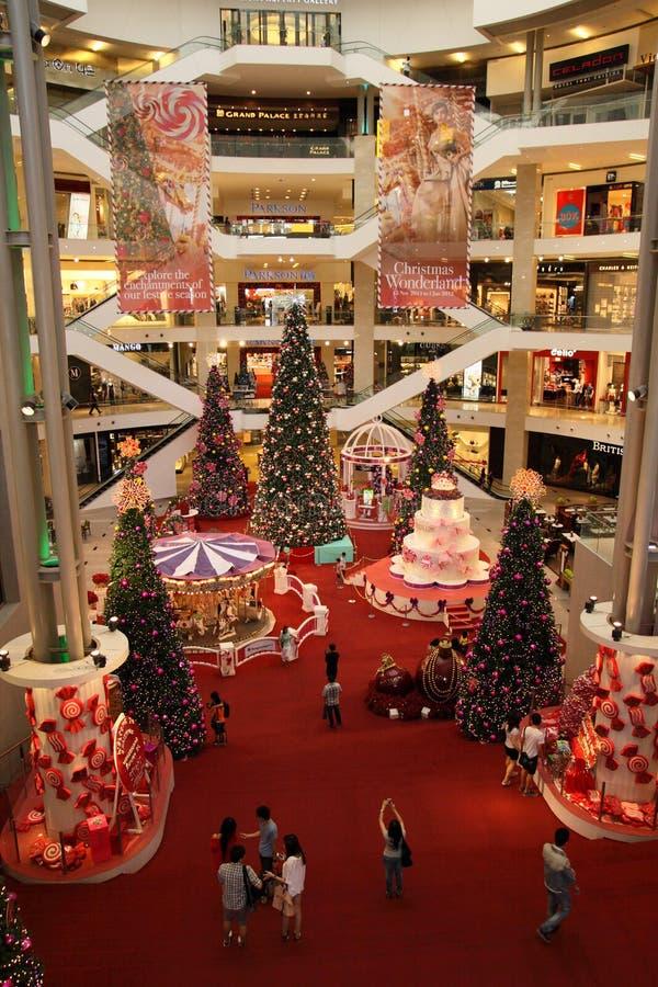 De mooie Decoratie van Kerstmis stock afbeeldingen