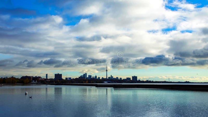 De mooie horizon van Toronto - Toronto, Ontario, Canada stock foto's