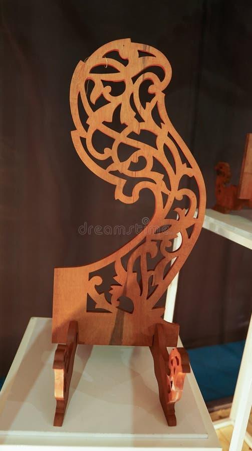 De mooie houten ambacht van Maleisië stock foto