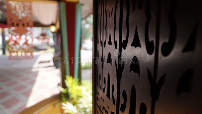 De mooie houten ambacht van Maleisië royalty-vrije stock foto