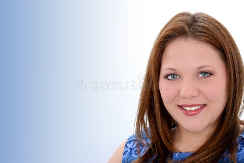 De mooie Jonge Vrouw van Twintig Éénjarigen royalty-vrije stock afbeeldingen