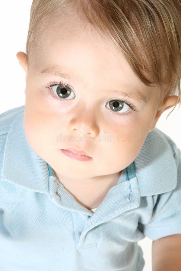 De mooie Jongen van de Baby stock afbeelding