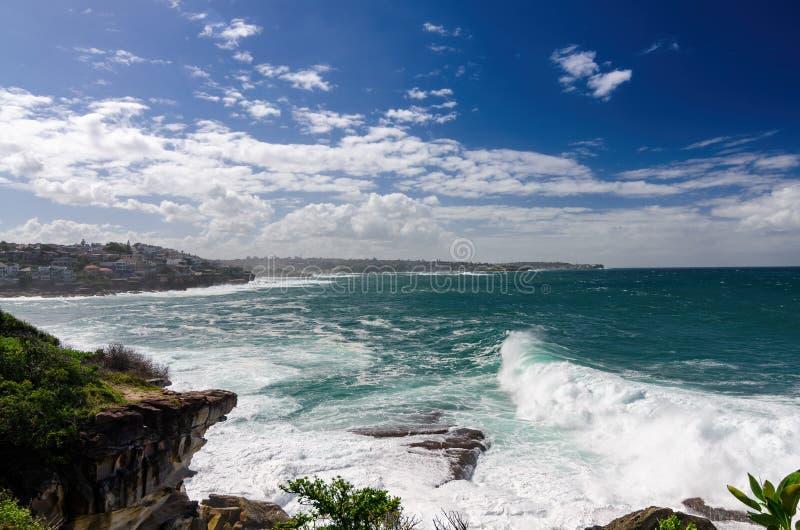 De mooie kustgangen van Sydney royalty-vrije stock foto