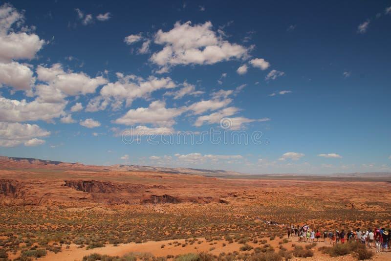 De mooie Lagere Antilopecanion, wordt genoemd Hazdistazi of 'spiraalvormige rotsbogen door de Navajo royalty-vrije stock foto
