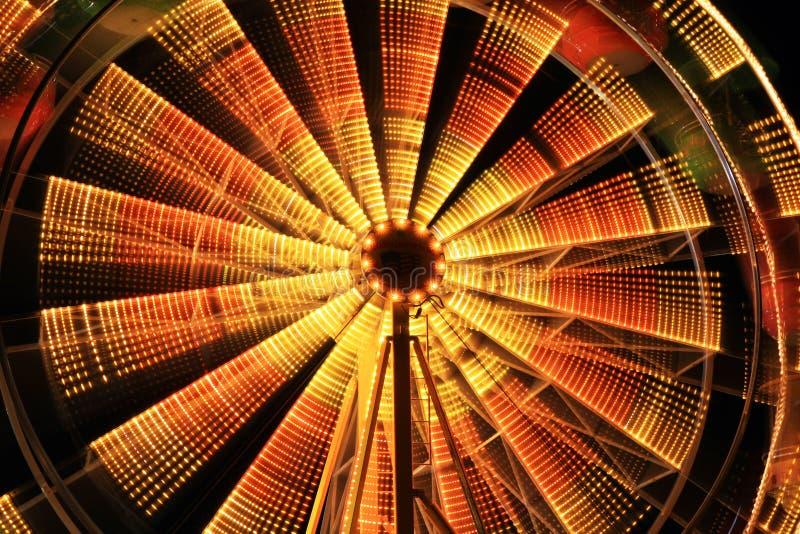 De mooie lichte slepen in Carnaval royalty-vrije stock afbeelding