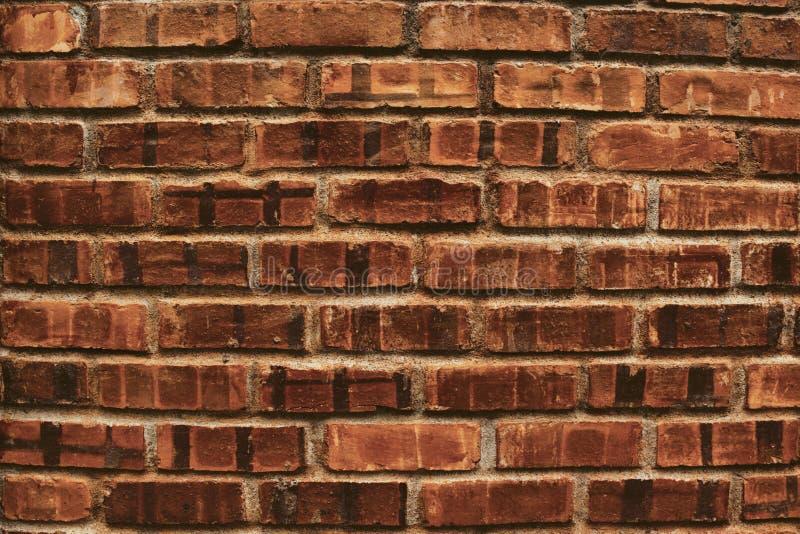 De mooie moderne en uitstekende oude achtergrond van het bakstenen muurpatroon stock foto