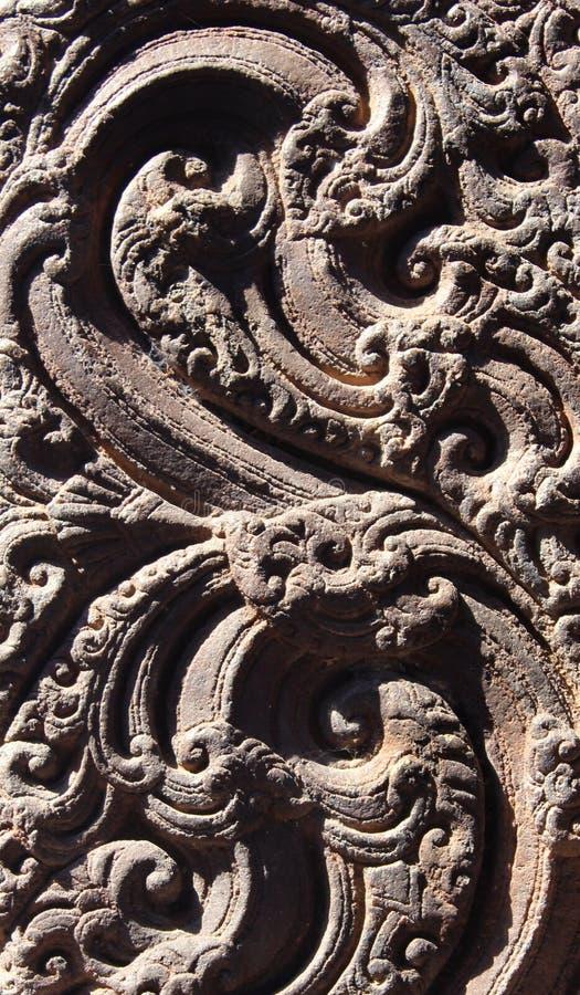 De mooie ontwerpen van de steenmuur van Jalakandeswarar-tempelzaal royalty-vrije stock fotografie