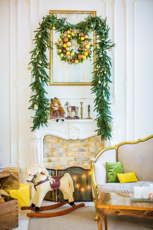 De mooie ruimte van Kerstmiskinderen ` s royalty-vrije stock foto