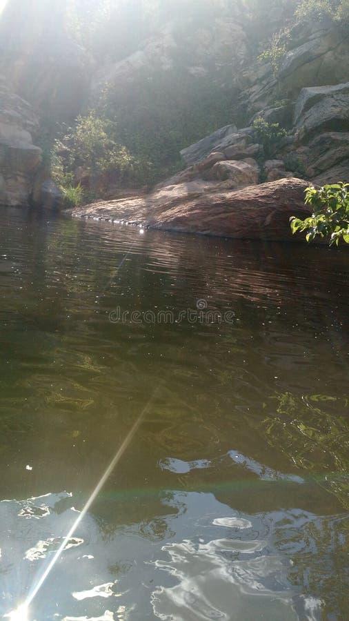 De mooie rustige lente Sedona Arizona royalty-vrije stock afbeelding
