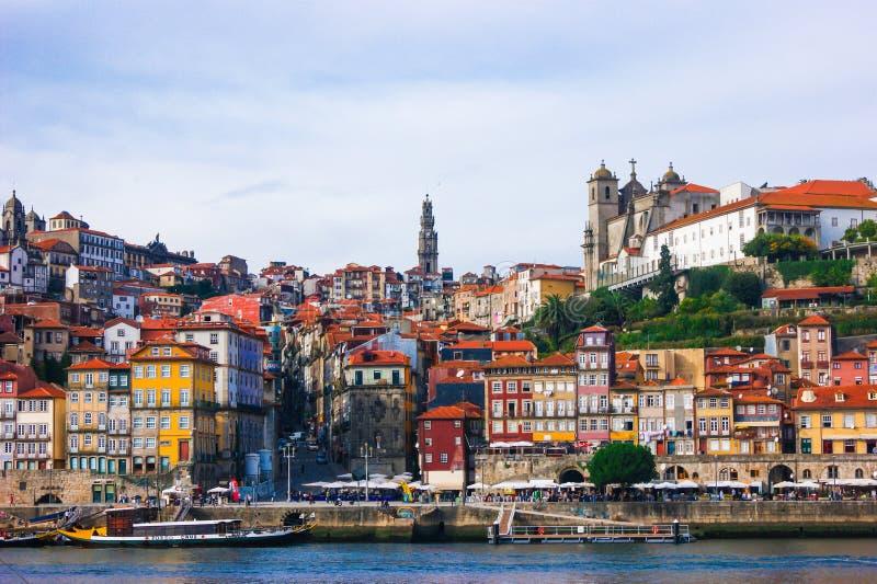 De mooie stad van Porto Portugal voor zijn kleuren en zijn cultuur professionele fotografie die door Venezolaanse fotografie word royalty-vrije stock afbeeldingen