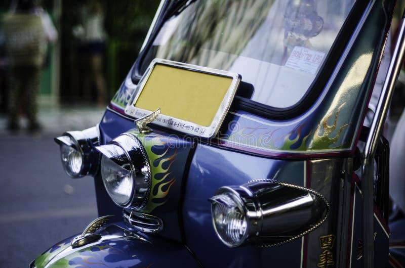 De mooie taxi van decoratietuk Tuk in Chiang Mai stock afbeeldingen