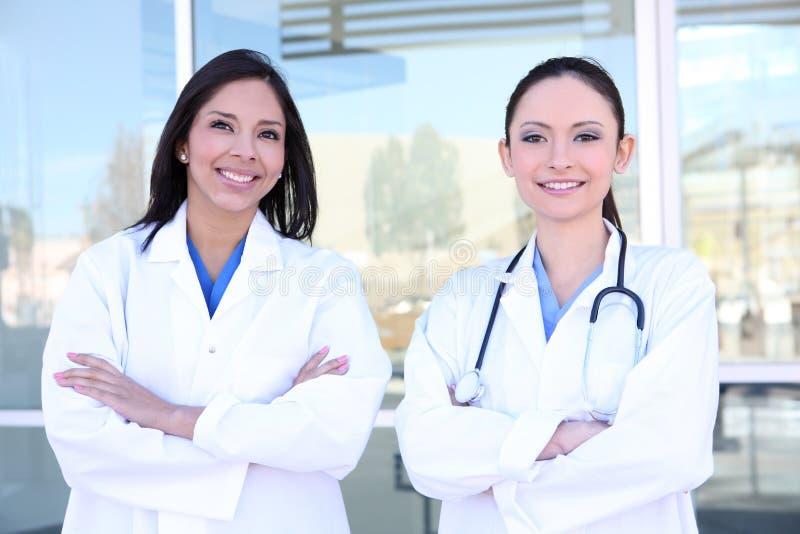 De mooie Verpleegsters van de Vrouw royalty-vrije stock fotografie