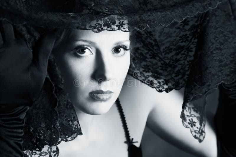 De mooie vrouw royalty-vrije stock foto