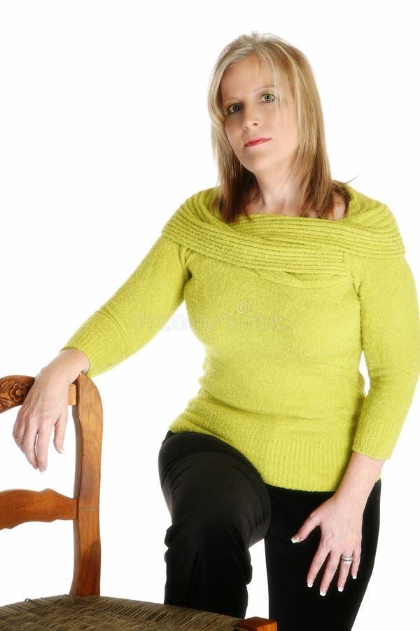 De mooie Vrouw van 40 Éénjarigen stock foto