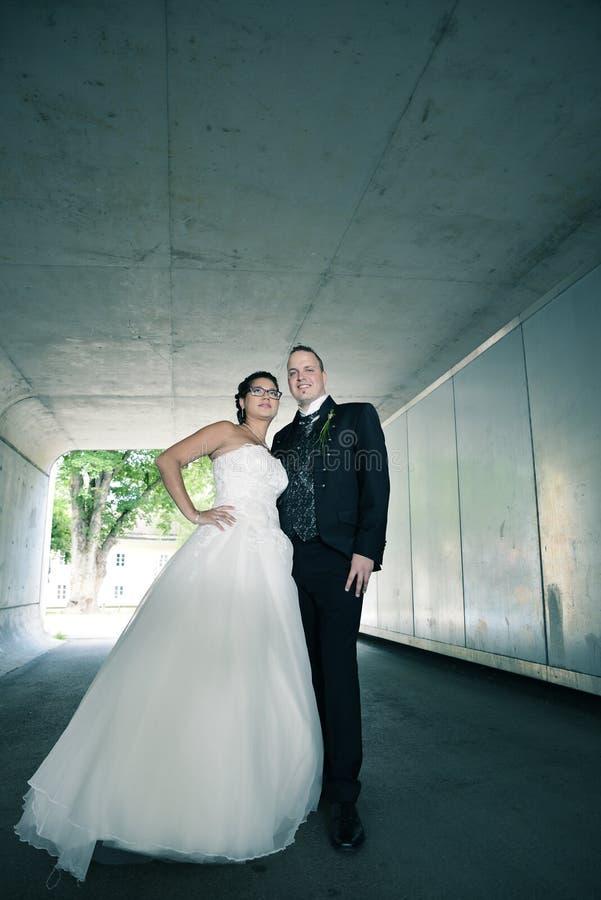 De mooiste dag in het leven - het huwelijk stock afbeeldingen