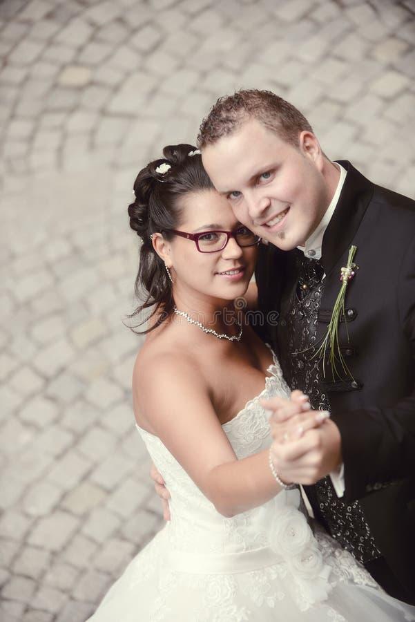 De mooiste dag in het leven - het huwelijk royalty-vrije stock fotografie