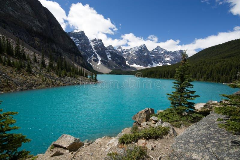 De Morene van het meer royalty-vrije stock foto