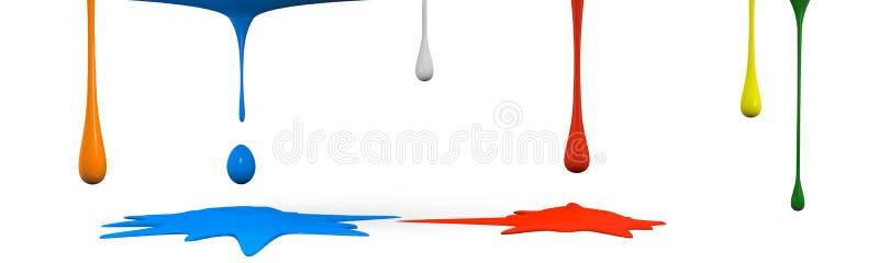 De morserij van de kleur stock illustratie