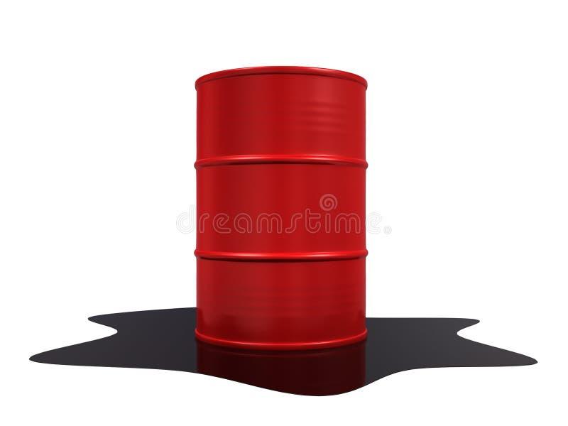 De Morserij van de olie royalty-vrije illustratie