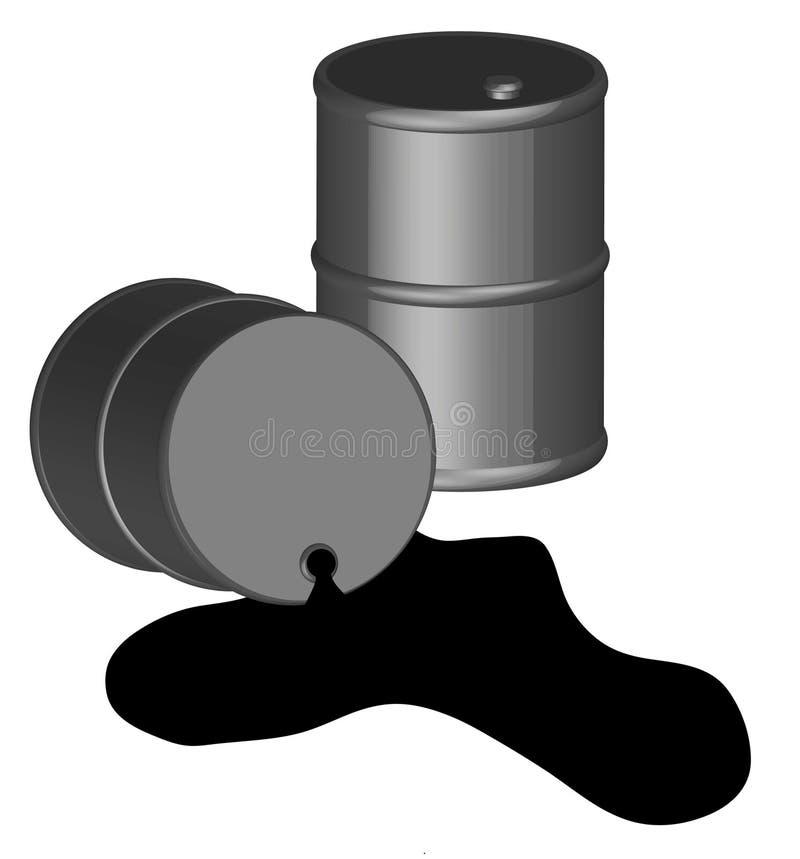 De morserij van de olie stock illustratie