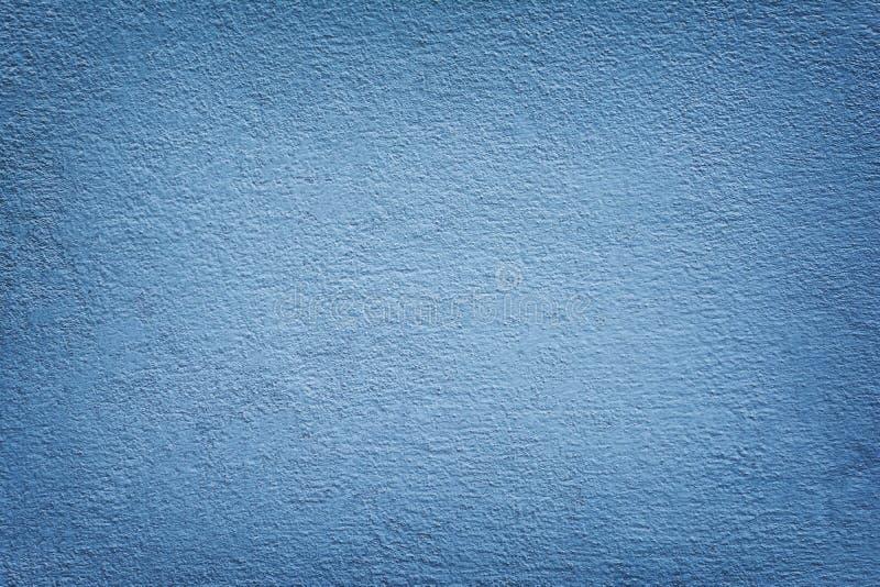 De mortiermuur schilderde Blauwe Kleur royalty-vrije stock afbeeldingen