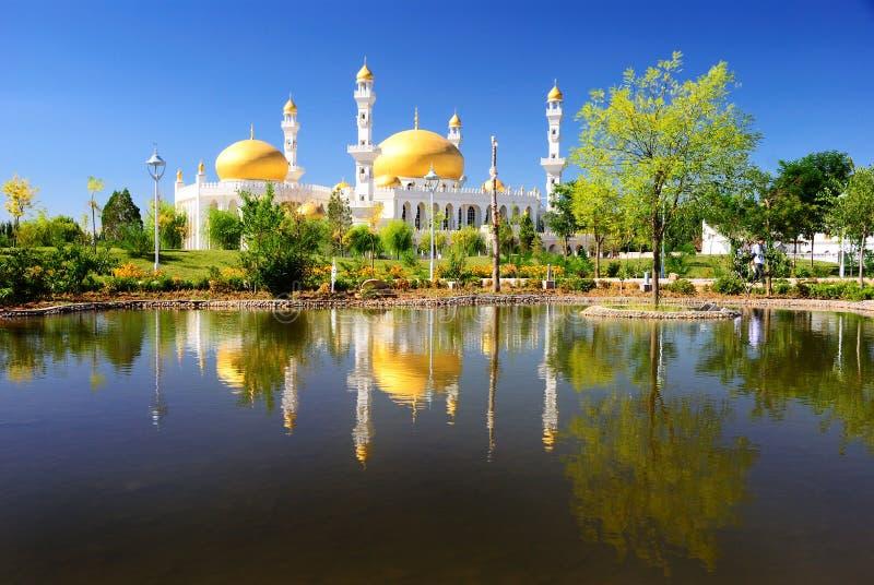 De moskee royalty-vrije stock afbeelding