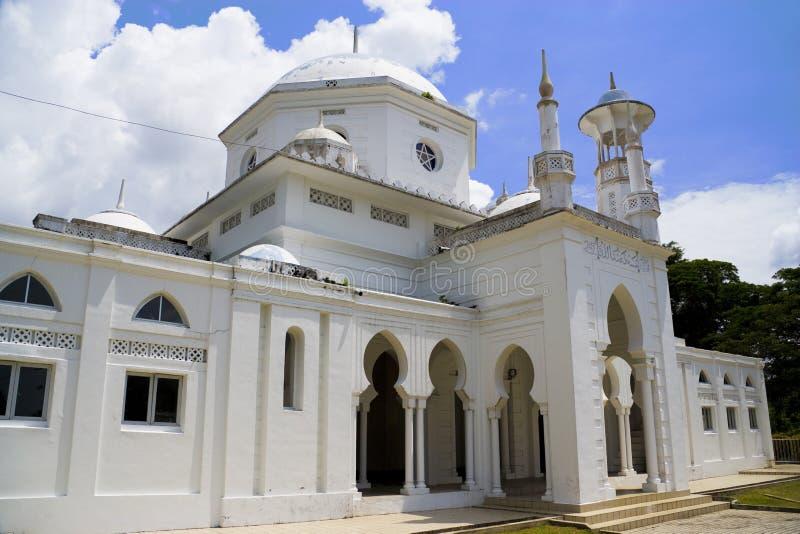De Moskee van Abdullah van de sultan, Maleisië royalty-vrije stock foto's