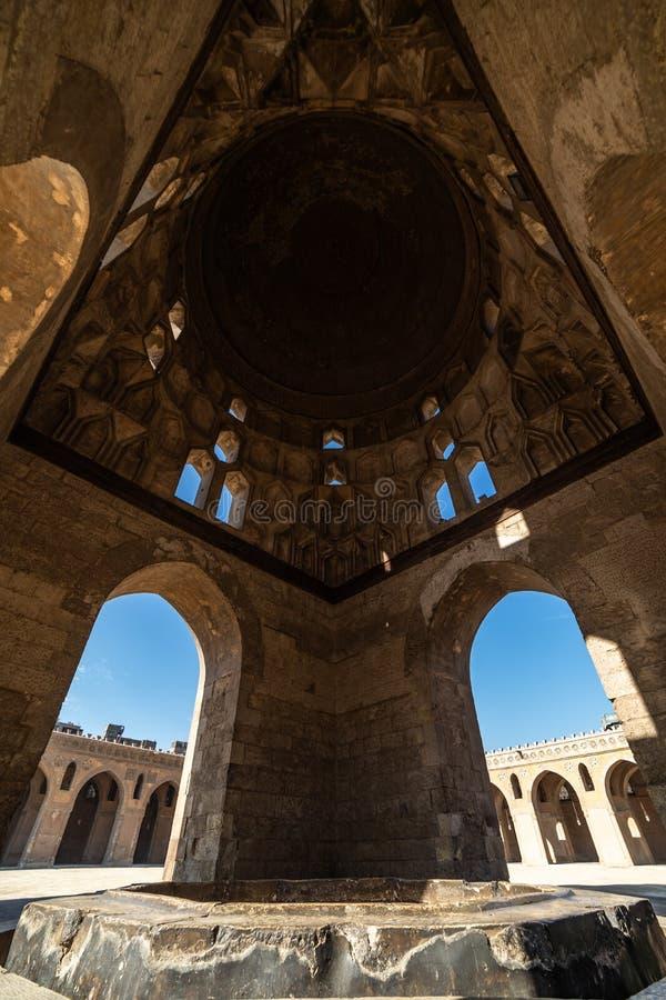 De moskee van Ahmad Ibn Tulun stock afbeelding