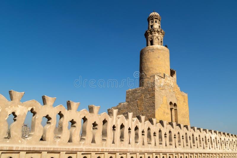 De moskee van Ahmad Ibn Tulun royalty-vrije stock foto