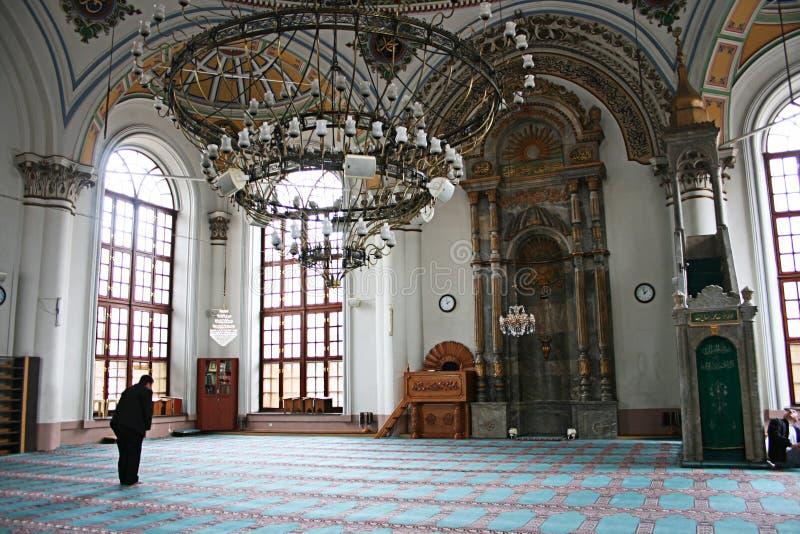De Moskee van Aziziye in Konya royalty-vrije stock foto's