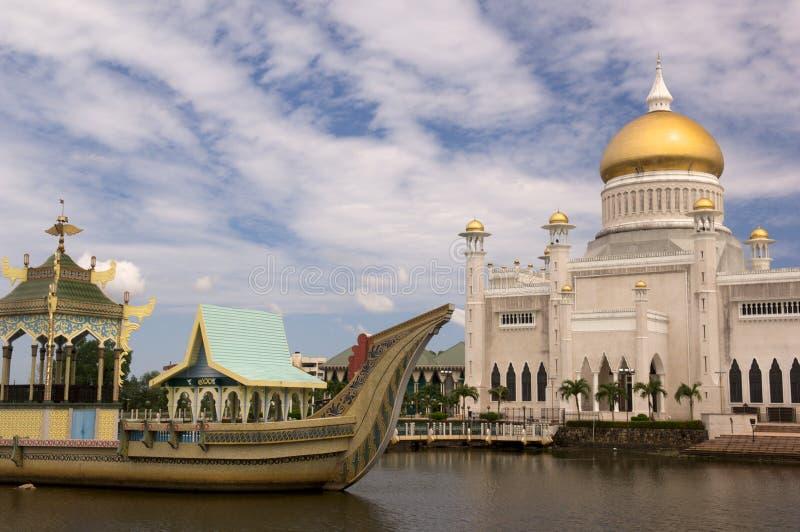 De Moskee van Bandar royalty-vrije stock afbeelding