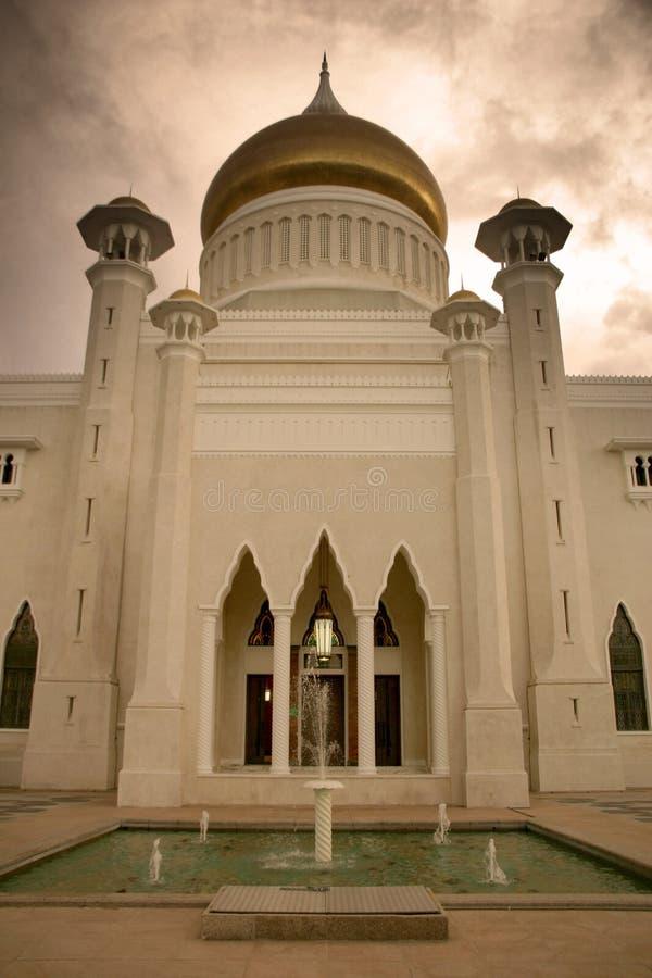 De Moskee van Brunei royalty-vrije stock afbeelding