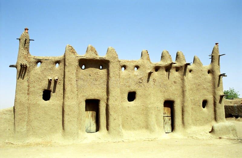 De moskee van de modder, Senossa, Mali royalty-vrije stock afbeeldingen