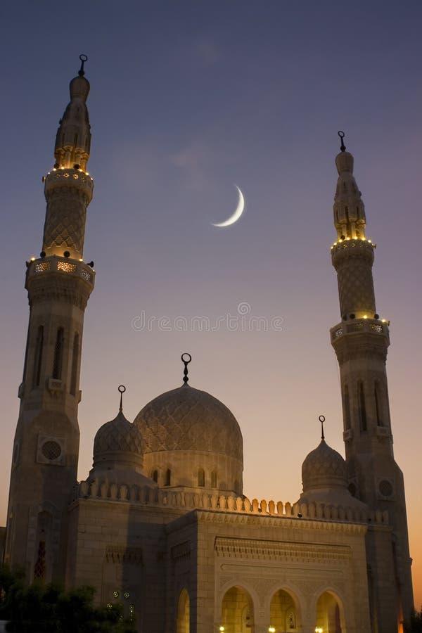 De moskee van de Ramadan royalty-vrije stock afbeeldingen