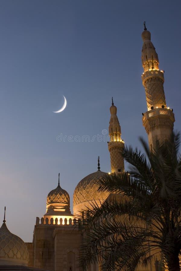 De moskee van de Ramadan stock afbeeldingen