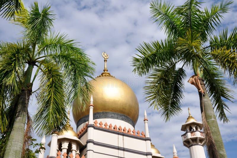 De moskee van de sultan in Singapore royalty-vrije stock fotografie