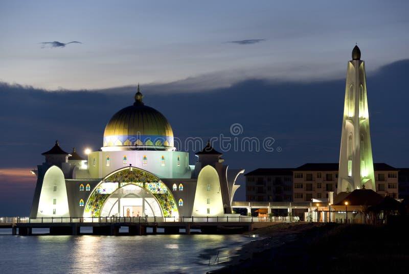 De Moskee van Detroit bij Schemer royalty-vrije stock afbeeldingen