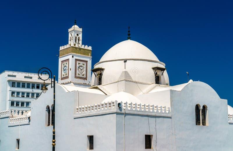 De moskee van Djamaa al-Djedid in Algiers, Algerije stock afbeelding