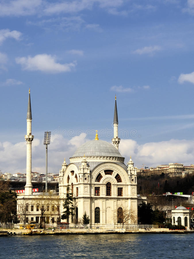 De moskee van Dolmabahce royalty-vrije stock foto