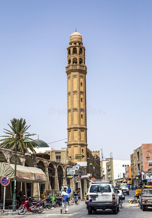 De Moskee van Gr-Ferdous Tozeur Tunesië royalty-vrije stock foto's