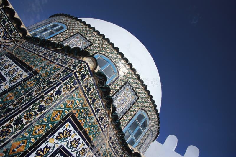 De moskee van het mozaïek stock afbeelding